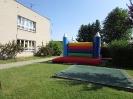 Skákací hrad Morašice, otevírání školního roku ve školce